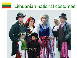 Lithuanian national costumes