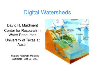 Digital Watersheds