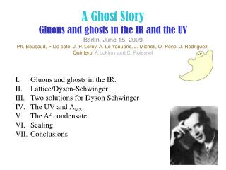 Gluons and ghosts in the IR:  Lattice/Dyson-Schwinger Two solutions for Dyson Schwinger