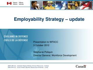 Employability Strategy – update