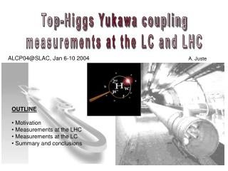 Top-Higgs Yukawa coupling measurements at the LC and LHC