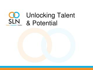 Unlocking  Talent  & Potential