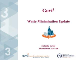 Waste Minimisation