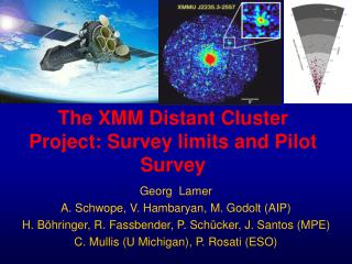 The XMM Distant Cluster Project: Survey limits and Pilot Survey