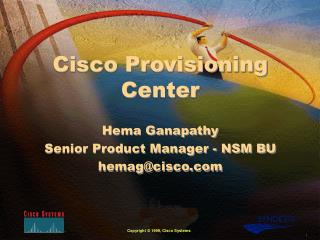 Cisco Provisioning Center