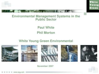 Environmental Management Systems in the Public Sector Paul White Phil Morton