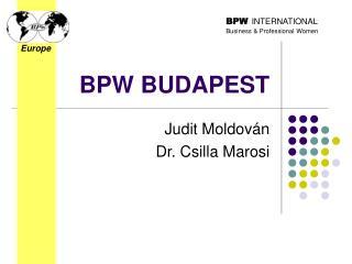 BPW BUDAPEST