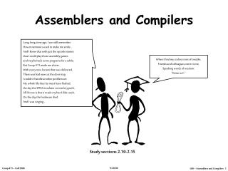 Assemblers and Compilers
