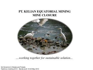 PT. KELIAN EQUATORIAL MINING MINE CLOSURE