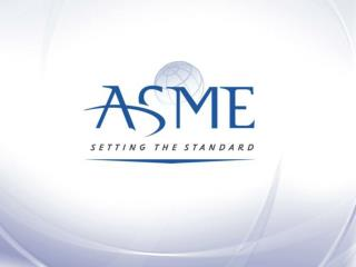 ASME  Nuclear Conformity Assessment