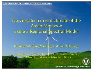 1. Department of Atmospheric Sciences,  Yonsei  University