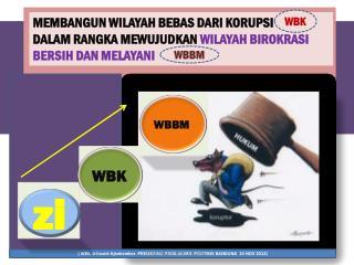 PEMBANGUNAN  ZONA  INTEGRITAS MENUJU WBK DAN WBBM  (KEPMENPAN DAN RB NO. 60 TAHUN 2012)