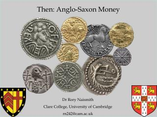 Then: Anglo-Saxon Money