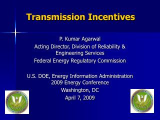Transmission Incentives