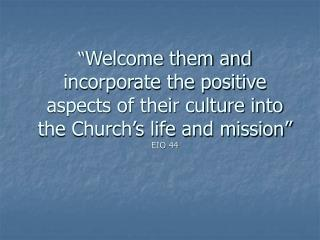 Church's Mission