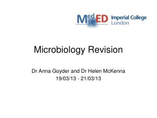 Microbiology Revision