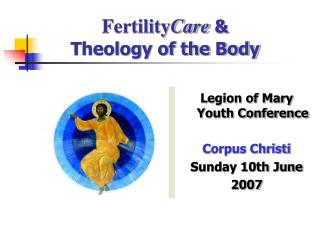 Fertility Care  & Theology of the Body