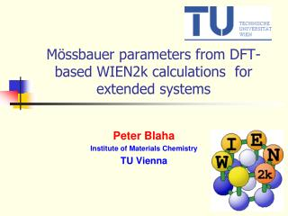 Mössbauer parameters from DFT-based WIEN2k calculations  for extended systems