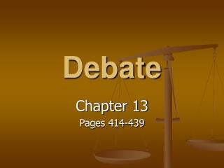 Parliamentary debate objective Asian