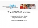 The HESES10 process