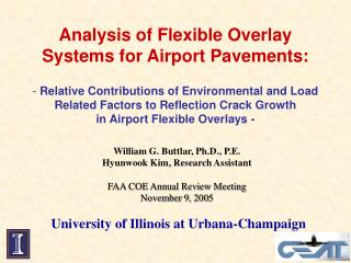 Analysis of Flexible Overlay Systems for Airport Pavements:
