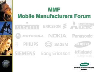 MMF Mobile Manufacturers Forum