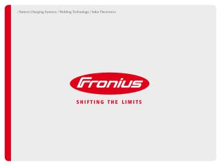 VIRTUAL WELDING Fronius International GmbH Welding Technology division Froniusplatz 1