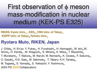 First observation of  f  meson mass-modification in nuclear medium (KEK-PS E325)