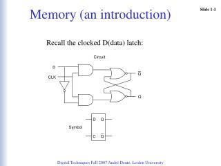 Memory (an introduction)