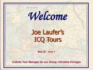 Joe Laufer's  ICQ Tours