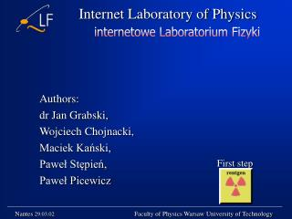 Internet Laboratory of Physics
