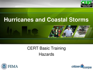 Hurricanes and Coastal Storms