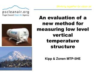 An evaluation of a new method for measuring low level vertical temperature structure