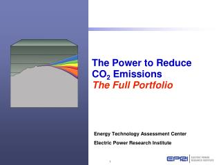 The Power to Reduce  CO 2  Emissions The Full Portfolio