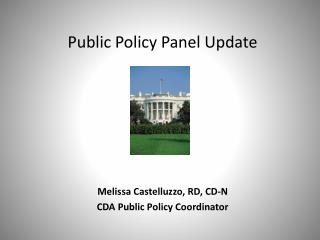 Public Policy Panel Update