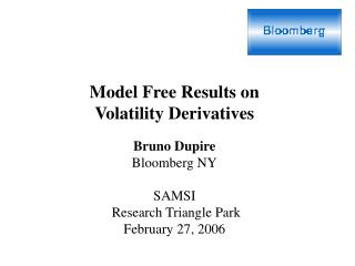 Model Free Results on Volatility Derivatives