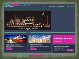 Comapre Hotel Deals With BetaBook Hotels