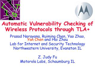 Automatic Vulnerability Checking of Wireless Protocols through TLA+