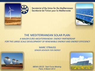 MENA-OECD Task Force Meeting Paris, 9 March 2012