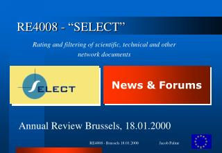 "RE4008 - ""SELECT"""