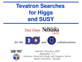 Tevatron Searches  for Higgs and SUSY