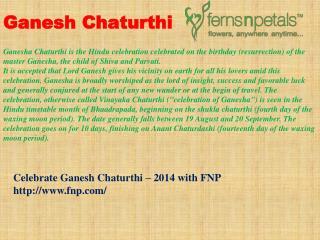 Ganesha Chaturthi Gifts   Ganesha Idols - FNP