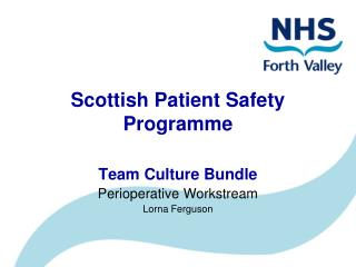Scottish Patient Safety Programme