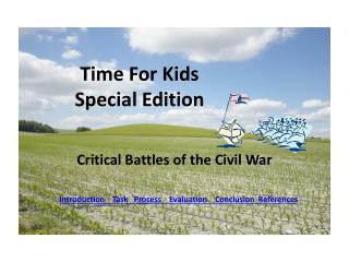 Time For Kids Special Edition