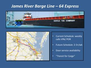 James River Barge Line – 64 Express