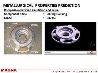 METALLURGICAL  PROPERTIES PREDICTION