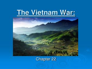 The Vietnam War: