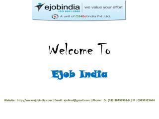 Ejob India - Best Web Designing Institute in Kolkata