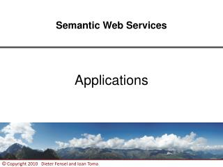 Semantic Web Services