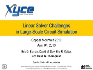 Linear Solver Challenges in Large-Scale Circuit Simulation